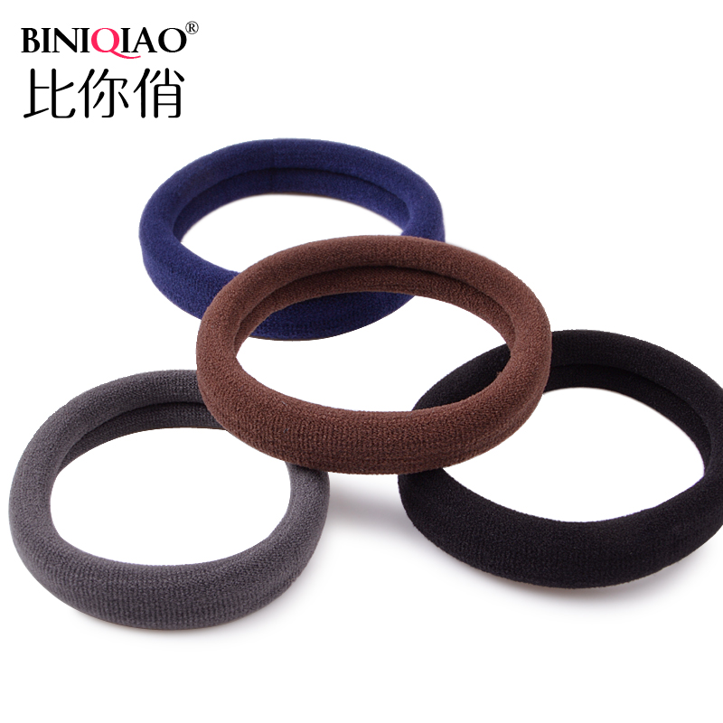 More bold junctionless Tousheng hair ring Korean hair rope rubber band card head band head accessories