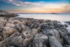 Towards the sea (languitar) Tags: norway hdr pool ocean sunset photography sky billard colorefex4 rock water sea colorefex kingdomofnorway nikcolorefex norge rocks vestagder no lindesnes