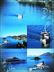The nature in blue (ioannisspyrakis1) Tags: corfu greece nikon d5300 sea boats pontikonisi color blue spyrakis