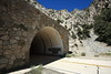 Rock portal SR-2 (desertwind760) Tags: angeles crest angelescrest sr2 tunnel forest highway los losangeles 5d