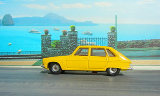 Dinky Toys Renault R16 No.166 1967 : Diorama PS2 GT4 Computer Game Backdrop Costa di Amalfi - 2 Of 31