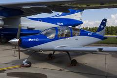 Ilyushin Il-103 - 2 (NickJ 1972) Tags: zhukovsky maks 2017 airshow aviation gromov flight research institute ilyushin il103 61917