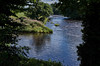 Two Rivers (scottprice16) Tags: england lancashire hurstgreen ribblevalley riverribble riverhodder ribbleway join flow rivers two colour blue water summer august leica leicaxvario