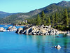 Boulders in Sand Harbor, Lake Tahoe, NV 9-10 (inkknife_2000 (8.5 million views +)) Tags: laketahoe sandharbor nevada landscapes alpinelakes rocksinwater deepblue dgrahamphoto bluewater forest pinetrees mountains clearwater boulders rocksandwater