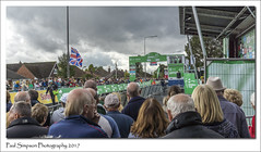 Tour of Britain stage 3 finish line (Paul Simpson Photography) Tags: tourofbritain scunthorpe finishline sonya77 sonyphotography paulsimpsonphotography bikerace cyclerace cycles cycling northlincolnshire ovotob 2017 nltour2017 stage3 centralpark september roadrace racing crowds spectators people event england unionjack unionflag uk britain greatbritain photosof photoof imagesof imageof crowdbarriers spectacle crowd crowdofpeople endline