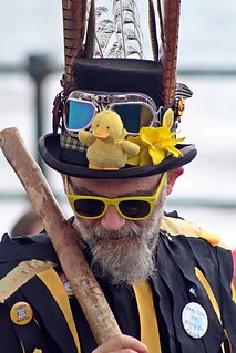 Duck and Hat - Sidmouth Folk Festival, Sidmouth, Devon - Aug 2017