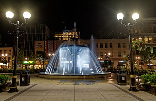 My Night Shots: Gore Park Water Fountain