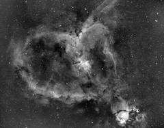Heart Nebula IC1805 (Ha) (eBear Foto) Tags: ha astrophotography nebula ic1805 heart astro narrowband