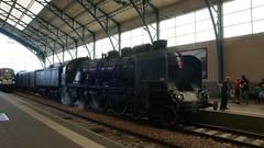 Le Havre - Le train de la pacific vapeur club de Sotteville lès Rouen (jeanlouisallix) Tags: le havre seine maritime haute normandie france pacific vapeur club pacfic 231 locomotive sncf train gare