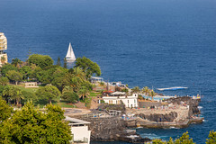 Funchal Cityscape (Wolfhowl) Tags: view funchal landscape cuityscape nature water city madeira portugal clear trees beach ocean travel island rocks green португалія europe 2017 buildings