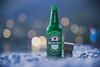 Drink to get drunk (Vagelis Pikoulas) Tags: drink drunk danbo bokeh canon 6d tamron 70200mm 200mm f28 beach lights blue hour porto germeno greece heineken