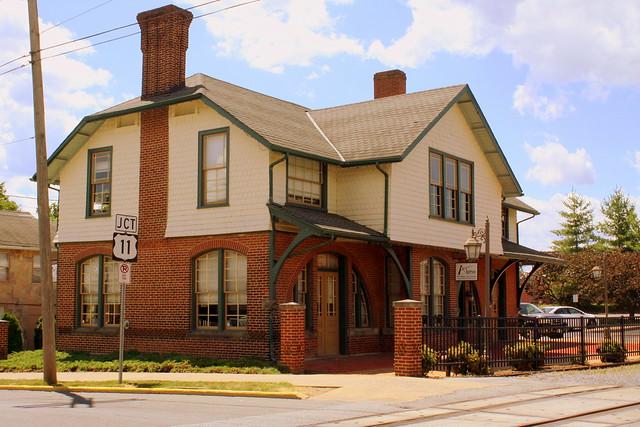 Cumberland Valley Railroad depot - Martinsburg, WV