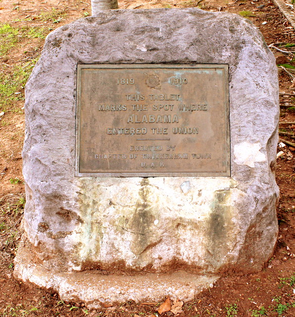 Where Alabama entered the Union