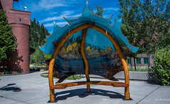 2017 - Road Trip - Castlegar - Sculpture Walk - Maple Relief (Ted's photos - For Me & You) Tags: 2017 bc canada cropped nikon nikond750 nikonfx tedmcgrath tedsphotos vignetting castlegar castlegarbc britishcolumbia sculpture sculpturewalk castlegarsculpturewalk sculpturewalkcastlegar shadows maplerelief maplereliefsculpture cans2s