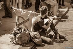 Berkeley Protests (Franco Folini) Tags: all berkeley protests berkeleyprotests berkeleyprotest contestazioni proteste blackandwhite blackwhite sepia altright neonazi freespeech cops police falceemartello comunismo communism