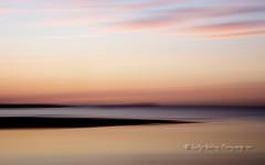Into the Night (pixellesley) Tags: icm scotland dunbar sundown nightfall landscape movement beach colour clouds ocean sea reflections dreamy lesleygooding