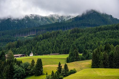 Little Church in Tyrol, Austria