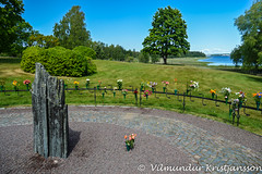 Memorial - Minneslund (DSC_4245vk) (Villi Kristjans) Tags: vilmundur vk villi vkphoto kristjansson kristjans kristjáns kristjánsson old outdoor trip travel summer sky vacation color colour nikon digital d3200 hammerö varmland sweden sverige svíþjóð july 2017 memorial