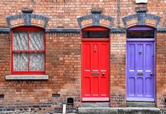 Dublin doors (Lo8i) Tags: dublin window ireland door 7 days shootingweek 7vibrantgeometry sunday