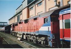 N457 Spencer St (tommyg1994) Tags: wcr west coast railway warrnambool emd s b a p class victorian railways vr freight australia r steam engine t s300 s302 s311 b61 b76 r711 t363 t385 ballarat spencer street b80 b65 n vline murraylander