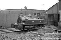 c.1950 - Beckton, East Ham, London. (53A Models) Tags: becktonbyproducts neilsonco 040t n1892 industrial steam beckton eastham london train railway locomotive railroad