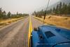haze on the highway (fantomdesigns) Tags: land cruiser bj42 bj40 highway