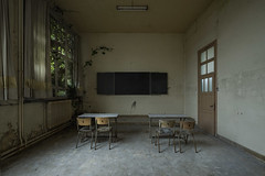 You still have a lot to learn (www.MatthewHampshire.com) Tags: school classroom desks chairs