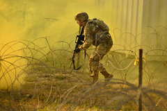 170826-Z-NJ272-009 (Oregon National Guard) Tags: oregon bestwarriorcompetition competitor razorwire smoke csgas august2017 camprilea warrenton ore competition