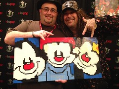 """Jess Harnell and Me! • <a style=""""font-size:0.8em;"""" href=""""https://www.flickr.com/photos/38446022@N00/36788974570/"""" target=""""_blank"""">View on Flickr</a>"""