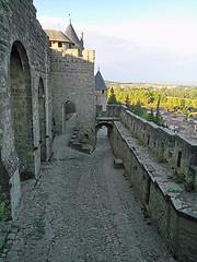 Côte de la Cité (bruno carreras) Tags: francia france ciudadela citadelle medieval castillo castle chateau pueblo town village carcasona carcassonne aude occitania