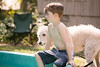frodo-service-dog-in-training-19 (Little Earthling Photography) Tags: dog labradoodle water servicedog boy summer