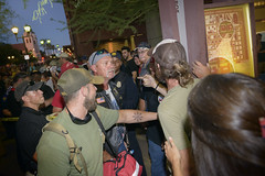 Standoff (GC_Dean) Tags: phoenix arizona protest resist resistance protestmarch power pride anger phoenixconventioncenter potusinphoenixprotest trumpinphoenixprotest oncameraflash fillflash slowsynch slowsynchflash 22august2017 august222017 sign