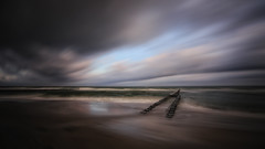 stormy beach mood (Marcus Rahm) Tags: balticsea ostsee clouds fischlanddarszingst fischland ahrenshoop mecklenburgvorpommern sea seascape seaside water wasser wolken sturm coast küste wellen waves nature natur outdoor outside