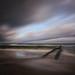 stormy beach mood