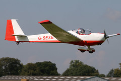 G-SEXE (GH@BHD) Tags: gsexe scheibe sf25c falke2000 motorglider glider laa laarally laarally2017 sywellairfield sywell aircraft aviation