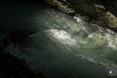 Flow (carolienvanhilten) Tags: garmischpartenkirchen bavaria beieren gorge partnachklamm deutschland duitsland germany waterfall waterval rainbow mountains water