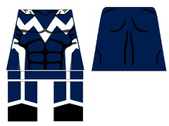 Blue Marvel decal (superherofigs) Tags: lego blue marvel decal custom superheroes avengers alliance