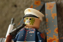 Virginia (lego slayer) Tags: lego zombie marine corps citizen brick brickarms rust honor