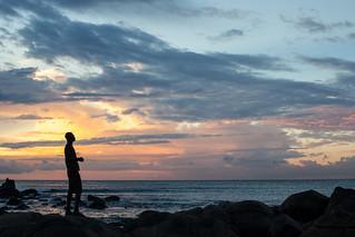 Singer at Sunset, Senegal