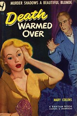 Bantam Books 718 - Mary Collins - Death Warmed Over (swallace99) Tags: bantam vintage 40s murder mystery paperback gilbertfullington