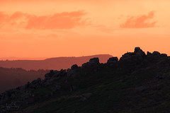 The Roaches from Ramshaw Rocks