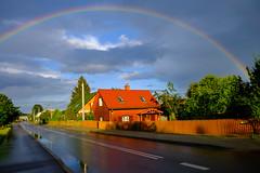 17-08_DSCF4516 (Jacek P.) Tags: poland polska podlasie augustowskie tęcza rainbow