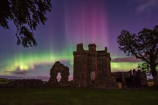 Balvaird Castle Aurora