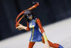 MSMv-20 (FaCharius) Tags: makeatripwithamod mtwm marvel legend universe 6inch avengers msmarvel kamalakhan