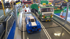 RBL @ Our Town Model Show (KPowers67) Tags: rainbow bricks our town model show newcastle australia nsw lego trains cars hot rods bots boats tanks kooragang island coal loading pasha bulker