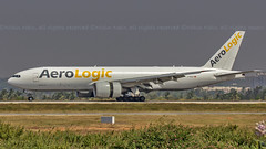 Aerologic Boeing B777F D-AALH Bangalore (BLR/VOBL) (Aiel) Tags: aerologic boeing b777 b777f daalh bangalore bengaluru canon60d freighter cargo
