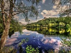 Glencoe Lochan,Scotland (Phelan (Shutter Clickin) Goodman) Tags: glencoe lochan highlands scotland pap mountains woodland lake peaceful picturesque idyllic