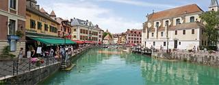 Le Thiou, Annecy, Haute-Savoie, Alpes, France