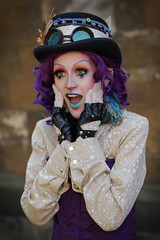 Asylum Steampunk Festival 2017 (Gordon.A) Tags: lincolnshire lincoln lincolncastle asylum theasylum convivial lincolnasylum lincolnasylumsteampunk asylumsteampunk asylumsteampunkfestival lincolnasylumsteampunkfestival festival festiwal festivaali festivalen wyl festspiele steampunk steampunkstyle steampunkclothes steampunkfashion steampunklifestyle victorian neovictorian alternative cosplay costume creative culture lifestyle lady woman hat people peoplewatching event eventphotography amateur streetphotography streetportrait colourportrait colourstreetportrait portrait portraitphotography naturallight naturallightportrait day daylight outside outdoor outdoorphotography town city castle urban urbanphotography canon canoneos750d sigma