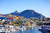 "Day 239/365 - ""Colorful"" (Little_squirrel) Tags: 365the2017edition 3652017 day239365 27aug17 greenland colorful house houses mountain city water fascinating sisimiut boats sky beautifulview way street north colorfulhouses"